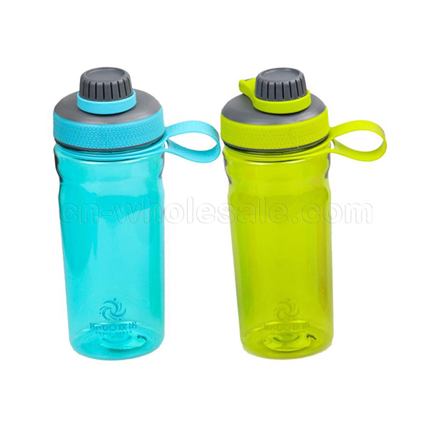 700ml 24OZ sport plastic shaker protein water bottle