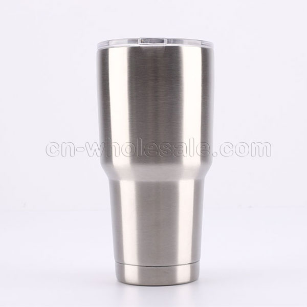 Personalized 30 oz Double Wall Stainless Steel Vacuum Insulated Tumbler with Lids