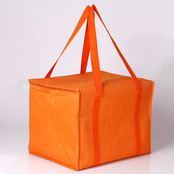 Custom simple design 600D polyester oxford thermal bag