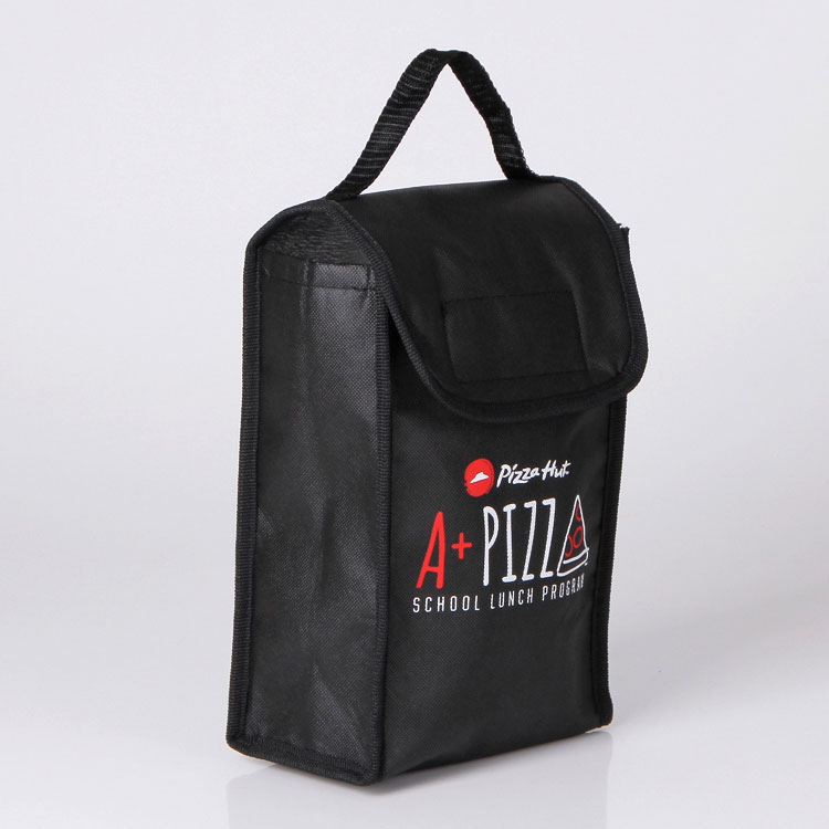 Custom logo printed 600D polyester oxford cooler bag