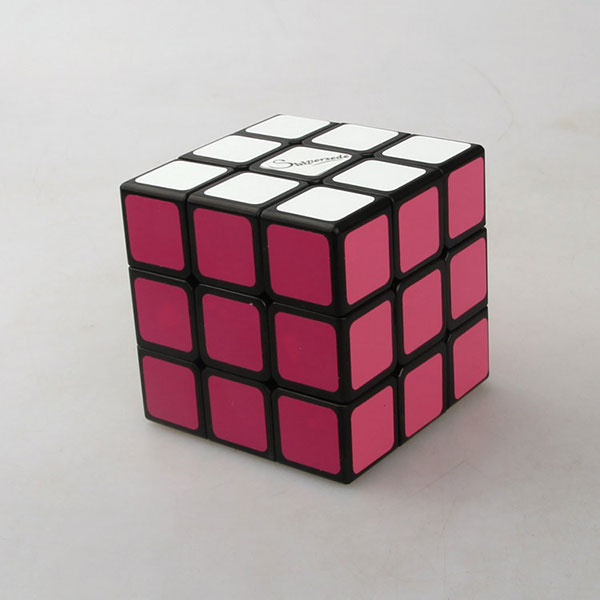 Eco-friendly rubrik cube, custom 3 by 3 rubik's cube