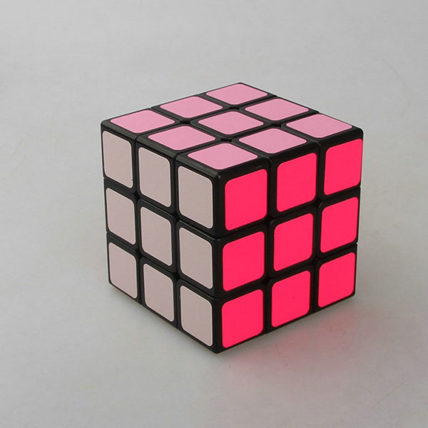Advertising logo printed cheap rubiks cube,3x3 cube