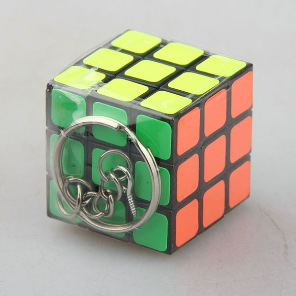 Custom 3x3 mini pocket cube ,rubik's cube keychain