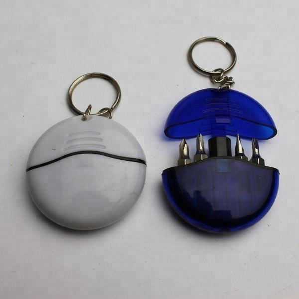 Custom Keyring Pocket Mini Screwdriver Set for Promotion