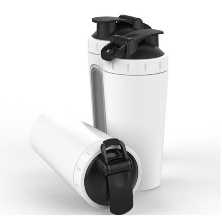 304 Stainless steel shaker water bottle,protein shake cup