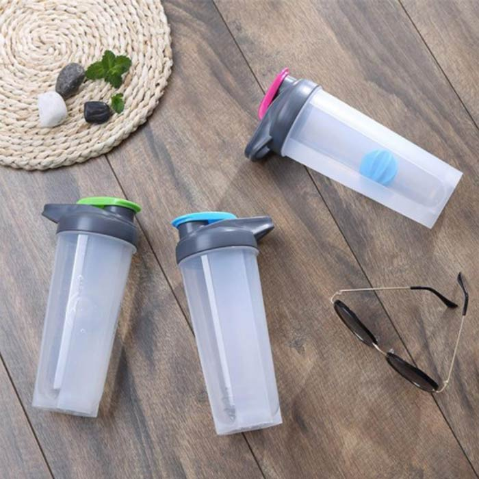 China High Quality BPA-Free Plastic Portable Leak Proof Shaker Bottle