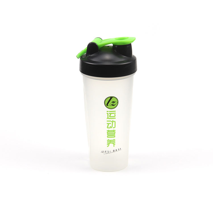 Custom logo 20 oz protein shaker | water bottle with mixer inside