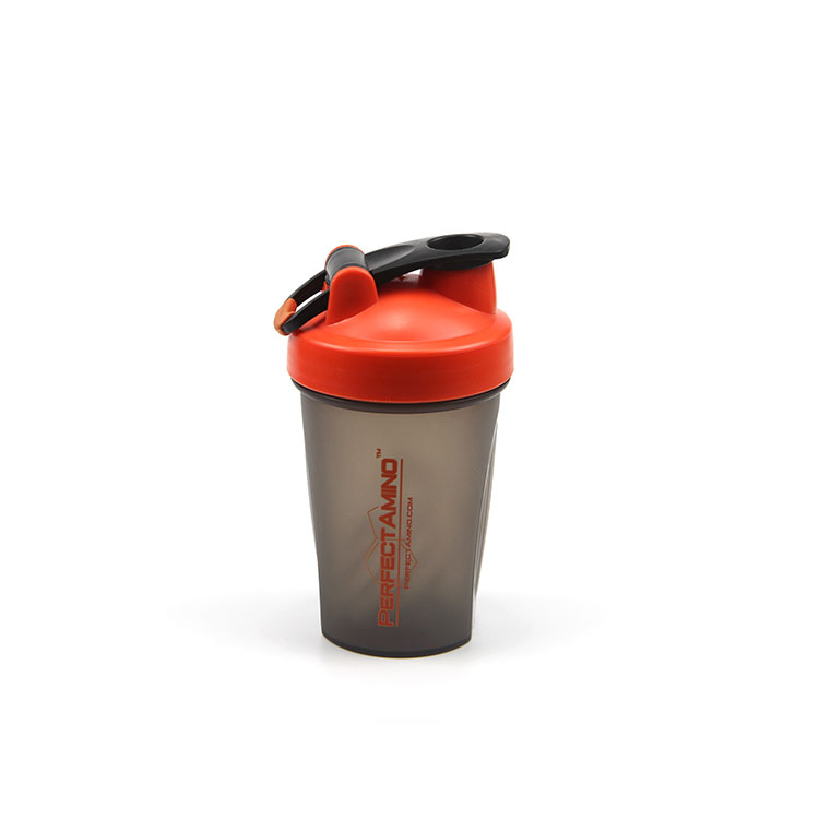 Design your own logo leak proof 400ml shaker cups for good protein shakes