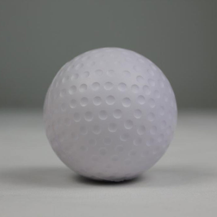 63mm chinese stress balls golf balls shape custom squeeze ball