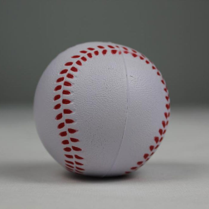 PU baseballs soft relieve toys custom cheap anti stress ball