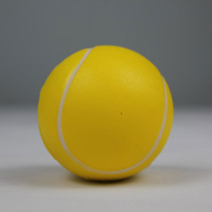 Branded logo stress tennis balls for kids and stress ball toys