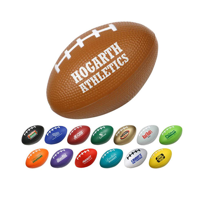 Wholesale Soft American Football Shaped Stress Ball branded Rugby Stress Ball