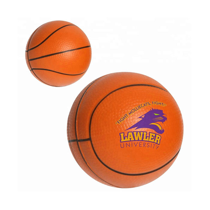 Custom cheap anti basketball stress balls soft stress balls for kids