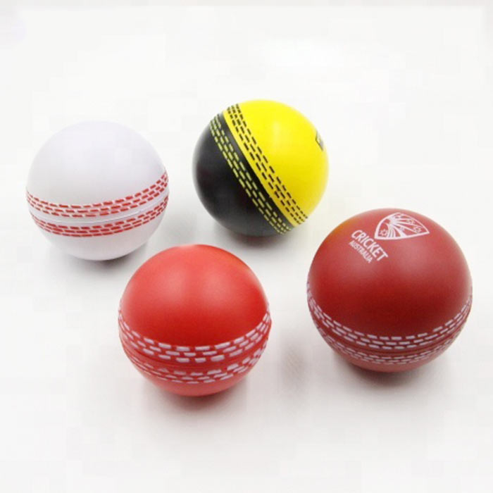 High quality children stress relief toy ball buy pu foam cricket stress balls from China